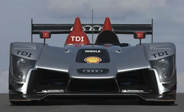 Audi R15 TDI Race Car Cruise Control Radio